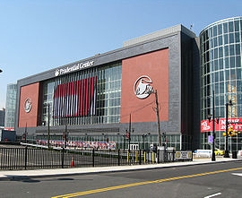 Prudential center newark nj